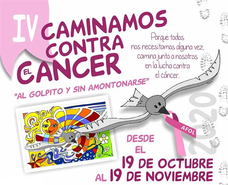 IV caminamos contra el cáncer Lanzarote