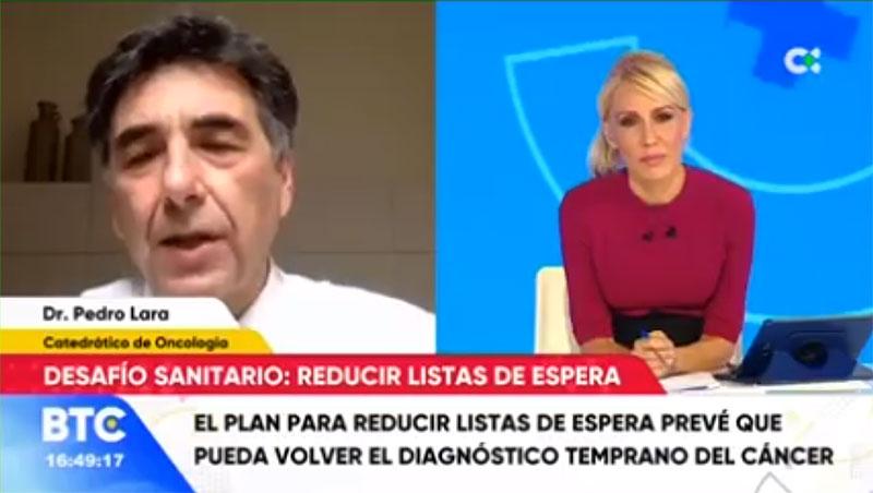 Pedro Lara Oncólogo TVE