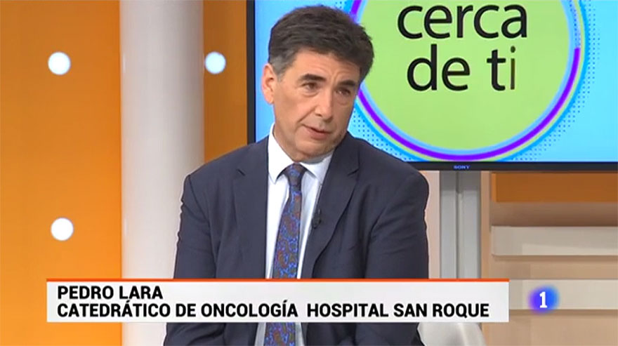 Oncólogo y catedrático Pedro Lara